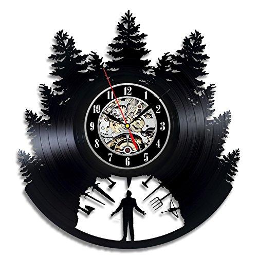 Twin Peaks Vinyl Wall Clock Art Gift Room Modern Home Record Vintage Decoration