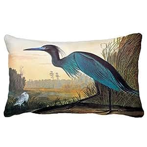 Amazon Com Yohoba Audubon Little Blue Heron Rectangle