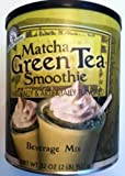 Matcha, Green Tea Smoothie Mix, 32oz Container (Pack of 2)