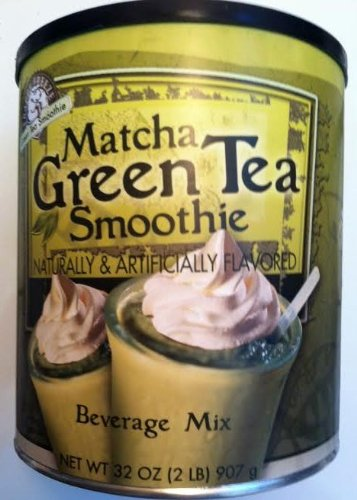 Matcha, Green Tea Smoothie Mix, 32oz Container (Pack of 2) by Caffe d'Amore (Image #3)
