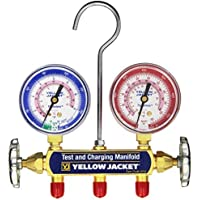 Yellow Jacket 41712 Manifold, bar/psi, R-410A by Yellow Jacket