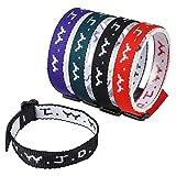 (US) 24 (2 Dozen) Wwjd Religious Bracelets Christian Wrist Bands and Church Event Fundraisers