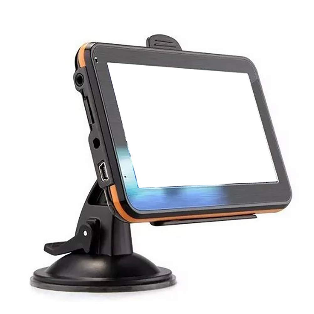 Giallo Ganquer MP3 MP4 5 Pollici Camion GPS Navigatore Documenti Browser Veicolo GPS Navigatore Bluetooth Immagini Camion Satellitare Navigatore Free Size