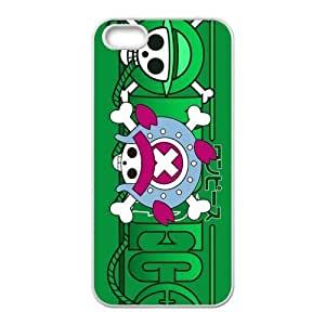 One Piece Pattern Design Solid Rubber Customized Cover Case for iPhone 4 4s 4s-linda681
