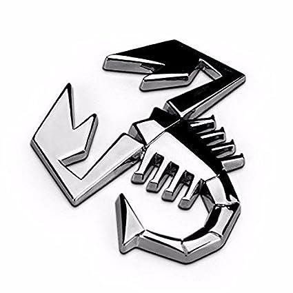 Amazon.com: RUI Emblem Badge Logo Personalized Car Truck Sticker Silver for Fiat 500, 124 Spider Rear Trunk or Fender/Side Doors: Automotive
