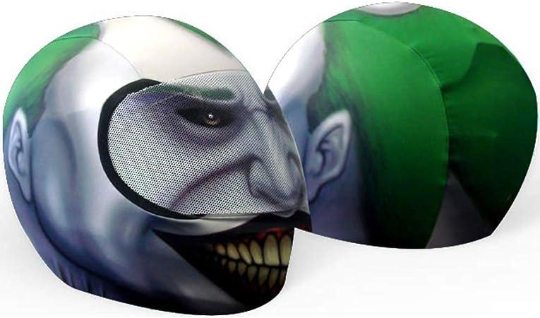 SkullSkins Spider-Man Wired Web Blue Universal Full Face Motorcycle Helmet Cover Skin