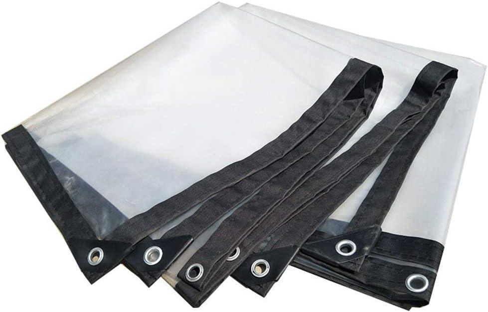 BWHTY Toldos A Prueba de Lluvia Invernadero Toldos de Lonas Lonas de plástico Techo Exterior para Exteriores Aislamiento térmico Antipolvo 100 G/M², 0.12 mm (Color: Transparente, Verde: 2X10m)