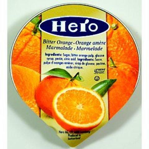 Hero Bitter Orange Marmalade (Cup) [216 Pieces] * 0.5 Oz ...
