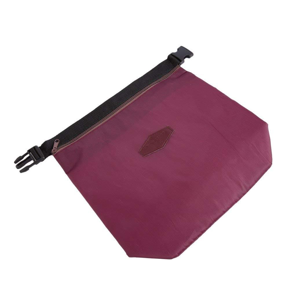 Justdodo 1pc Cremallera Aislante Bolsa t/érmica Aislante Bento Picnic Lunch Bag Caja de Comida r/ápida Pr/áctico refrigerador Mantener Caliente Popular en Todo el Mundo Venta-Vino Rojo-1 Tama/ño