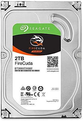 Seagate FireCuda, 2TB, Unidad híbrida de estado sólido, SSHD de ...