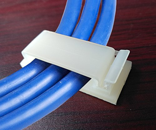Buy selfadhesive wire clip cable clamp