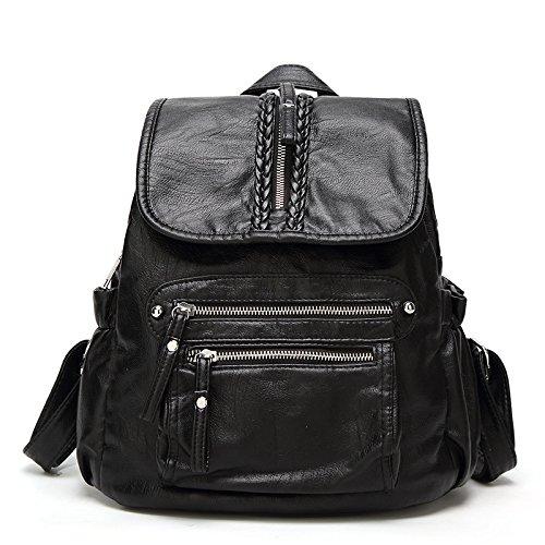 En à Main Daypack Nouveaux Sacs ZHXUANXUAN School A Backpack Travel Cuir Sacs Dos à n1IIFSqp