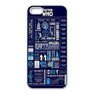 Customized Case Cover for iPhone 5,5S - Tardis Doctor Who case 3