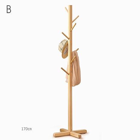 Perchero Creativo de madera sólida de madera para perchero ...