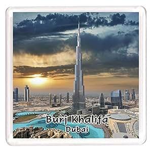 Ajooba Dubai Souvenir Magnet Burj Khalifa 0034