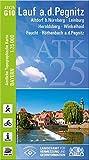 ATK25-G10 Lauf a.d.Pegnitz (Amtliche Topographische Karte 1:25000): Altdorf b.Nürnberg, Leinburg, Heroldsberg, Winkelhaid, Feucht, Röthenbach ... Amtliche Topographische Karte 1:25000 Bayern)