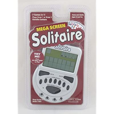 MegaScreen Solitaire Handheld Game: Electronics