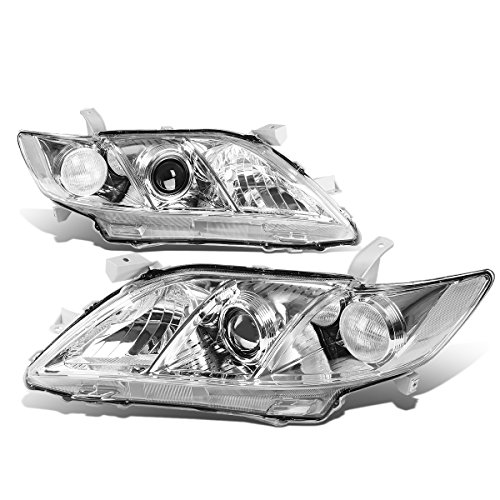 07 09 camry chrome housing clear