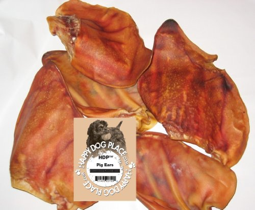 HDP Pig Ears Natural Dog Case of 100