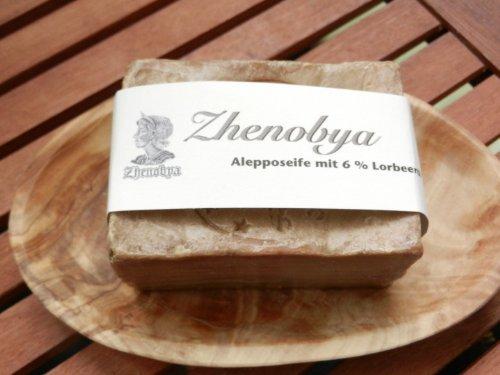 Zhenobya Alepposeife 88 % Olivenöl 12 % Lorbeeröl