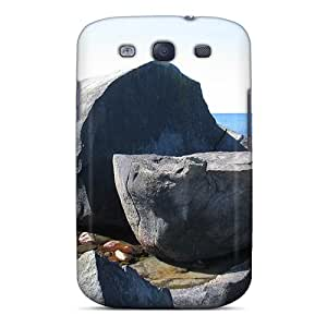 Excellent Galaxy S3 Case Tpu Cover Back Skin Protector The Big Stone