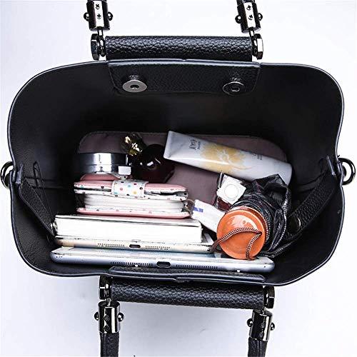 singola Borsa Fashion B nera in Borsa tracolla nera a inclinata Pu Jtsyhlady pelle 6n61qxz
