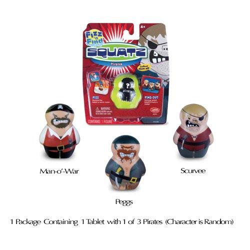 SQUATZ Fizz n Find Pirate Single Figure Pack
