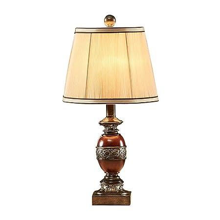 Lámparas de mesa- de Resina, iluminación Interior Antigua Luz de ...