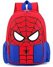 Spiderman kinderrugzak, waterdichte 3D-tas, Super Hero 3D-rugzak, rugzak voor kinderen, kamperen, wandelen, schooltassen en rugzakken