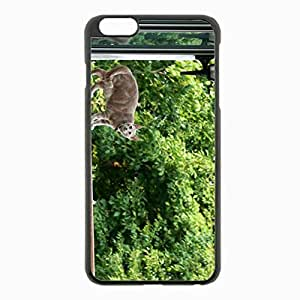 iPhone 6 Plus Black Hardshell Case 5.5inch - climbing rails house Desin Images Protector Back Cover by runtopwell