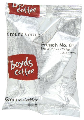 boyds-coffee-ground-coffee-french-no-6-dark-roast-25-ounce-portion-packs-pack-of-50