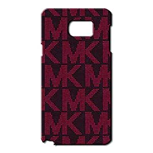 Best Design MK Michael Kors A Luxury Phone Case Cover Customized for Samsung Galaxy Note 5 3D Hard cover Case_(Red Logo)