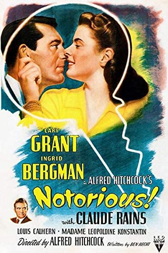 Amazon.com: Notorious! - 1946 - Movie Poster: Posters & Prints