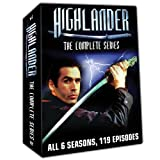 Highlander The Complete Collection 6 Seasons 119 Episodes- Plus Bonus