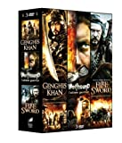 Coffret 3 films ??piques, vol. 2 : genghis khan ; wolfhound ; fire and sword