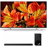 Sony XBR65X850F 65-Inch 4K Ultra HD Smart LED TV (2018 Model) with (HT-X9000F) X9000F 2.1ch Soundbar with Dolby Atmos