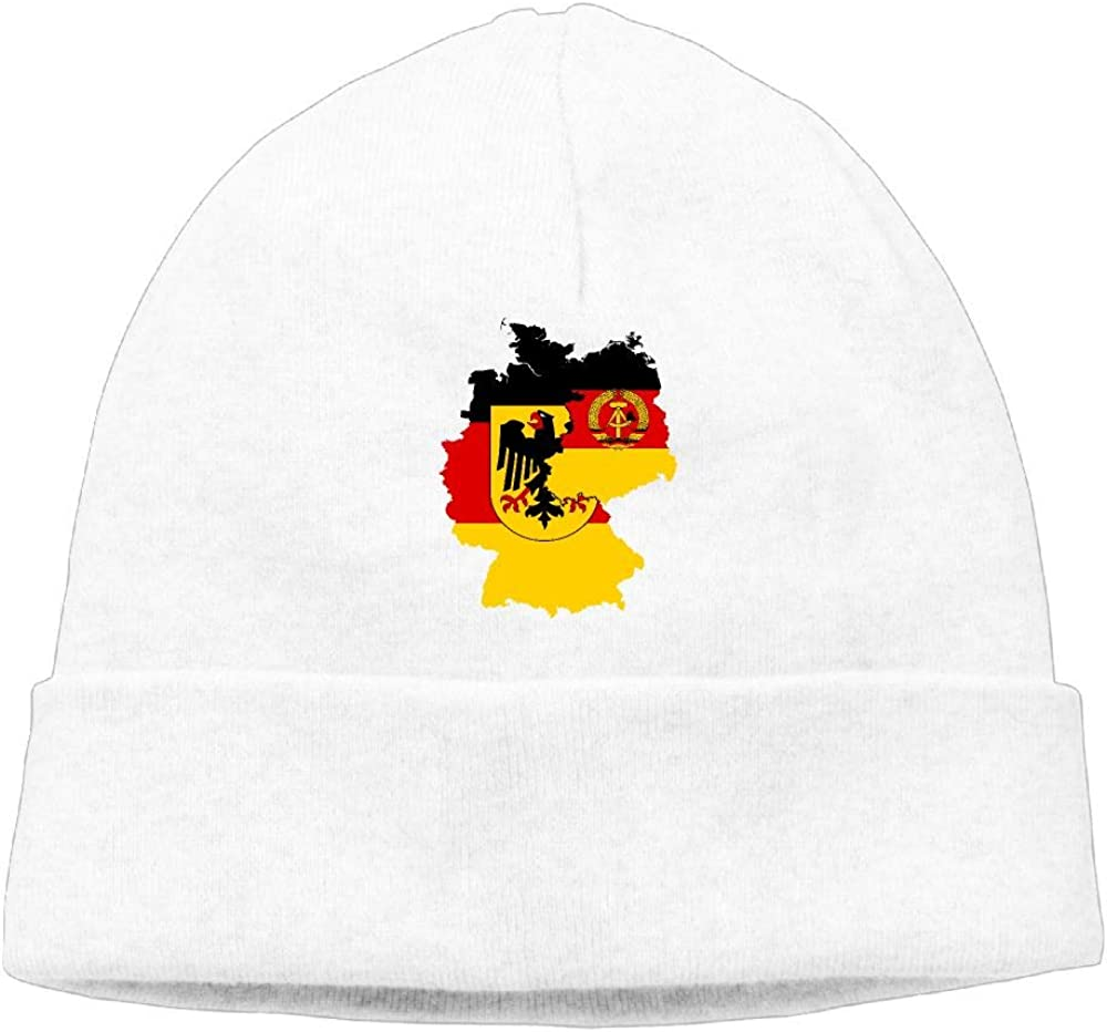 COLLJL8 Men /& Women Germany Flag Map Outdoor Stretch Beanies Hat Soft Winter Knit Caps