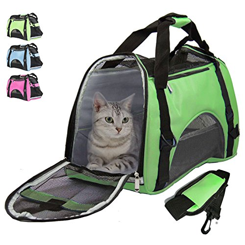 Airline Approved Pet Carrier Under Seat Soft Sided for Dogs Cats Small Puppies 17