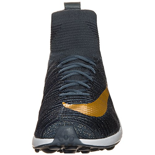 Nike Menns Zoome Mercurial Xi Fk Fc Blå / Gull 852616-400
