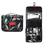 KARRESLY Hanging Toiletry Bag-Portable Travel Organizer Cosmetic Make up Bag Case for Women Men Shaving Kit with Hanging Hook for vacation(Hanging-green)