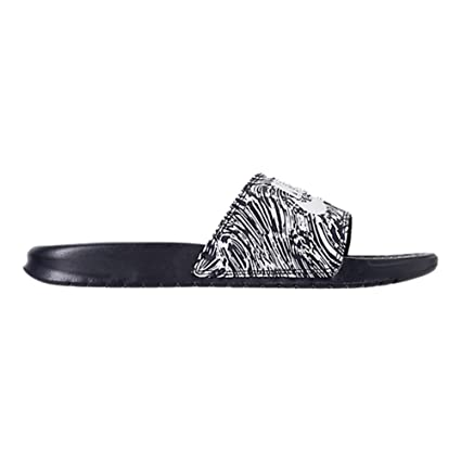 a3f20f4fe2d778 Image Unavailable. Image not available for. Color  Nike  631261-403  Benassi  JDI Print Mens Obsidian Pure Platinum Sandals (
