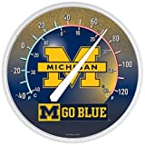 WinCraft Michigan Wolverines Round Thermometer