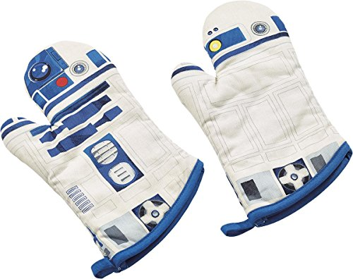 Star Wars R2 D2 Oven Mitts product image