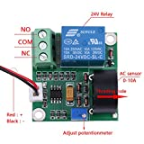 AC Current Detection Module 0-10A Switch On-off Output Current Sensor Module