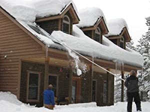 Amazon Com Minnsnowta Dynamo Roof Razor Roof Rake Snow