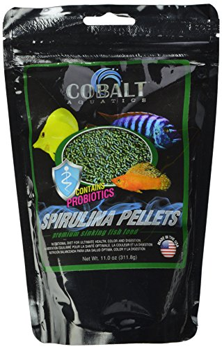 Cobalt Aquatics Spirulina Pellet, 11 oz