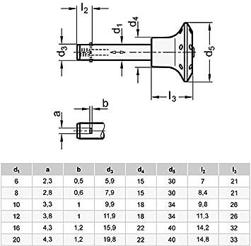 Steckbolzen mit Axialsicherung verzinkt Bolzendurchmesser: 12mm - GN 114.2-12-60 Ganter Normelemente 1 St/ück blau passiviert Sperrklinke Stahl