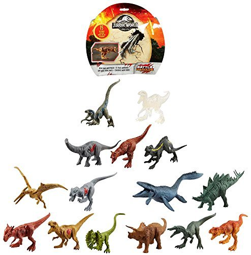 Fallen Kingdom Jurassic World Mini Dino 15 Pack Figures by Fallen Kingdom (Image #4)