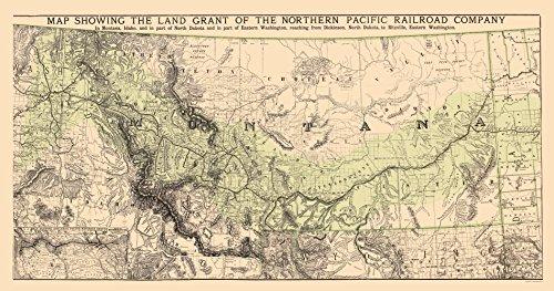 1890 Antique Map - 5