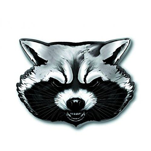 Guardians of the Galaxy Rocket Raccoon Pewter Lapel Pin (Destroyer Pin)